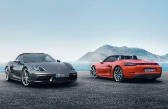 Así es el nuevo Porsche 718 Boxster