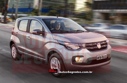 El nuevo Fiat pequeño, anticipado en Brasil