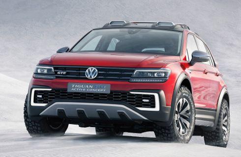 VW Tiguan GTE Active Concept: más off road y ecológico