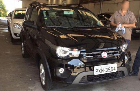 Más imágenes espía revelan el exterior del Fiat Mobi