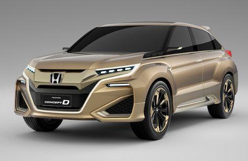 UR-V, el nuevo SUV de Honda para China