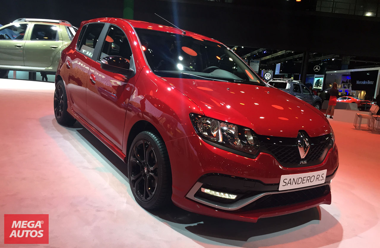 renault sandero rs debut mundial en argentina mega autos. Black Bedroom Furniture Sets. Home Design Ideas