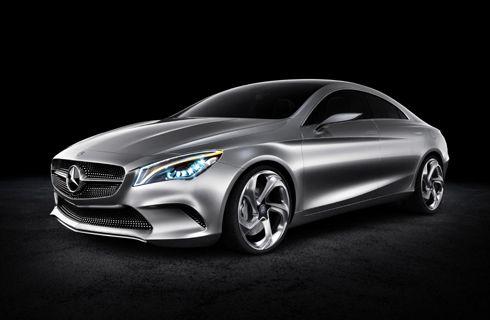 Mercedes-Benz anticipa un nuevo coupé de cuatro puertas