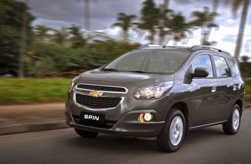 Este es el Chevrolet Spin, el nuevo familiar del moño