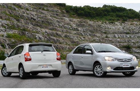 Toyota Brasil lanza el Etios a bajo precio