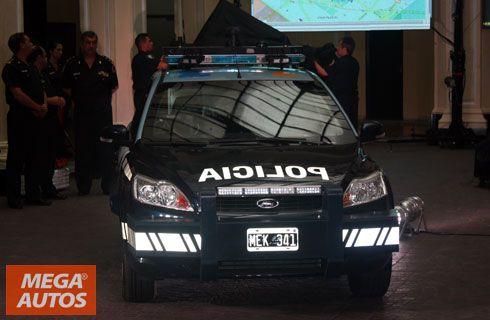 Nuevos patrulleros para la Policía Federal