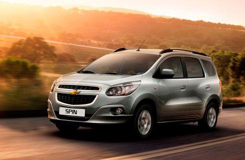 Chevrolet Spin diésel a la venta en el país