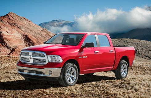 Chrysler lanzó la RAM 1500, la pick-up más potente del mercado