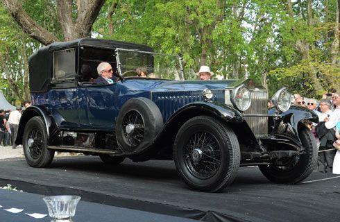El Best of Show de Autoclásica 2013 fue para un Rolls Royce Phantom I