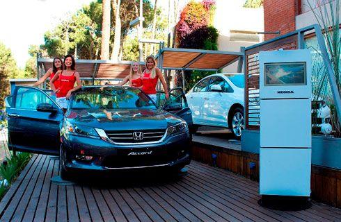 Honda inauguró su espacio en Cariló