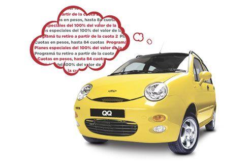 Chery lanzó un plan de ahorro para sus modelos QQ y Tiggo