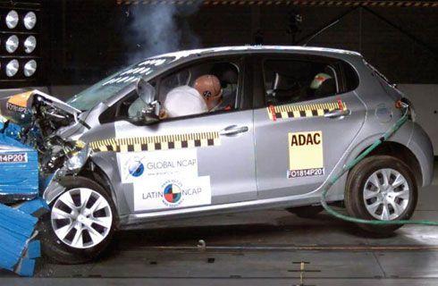 Latin NCAP: Peugeot y Fiat mejoran, Chevrolet decepciona