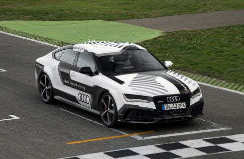 Audi RS 7 piloted driving concept: autónomo y deportivo
