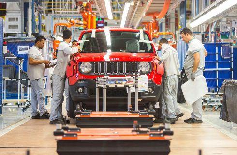 El Jeep Renegade ya es fabricado en Brasil