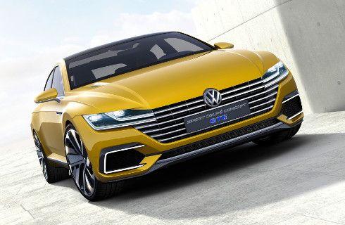 VW Sport Coupé Concept GTE, de cuerpo entero