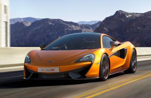 McLaren y su nuevo superdeportivo 570S Coupé