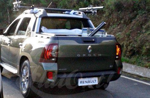 Primera imagen de la Renault Oroch definitiva