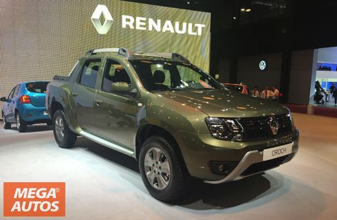 Renault Duster Oroch: primicia mundial