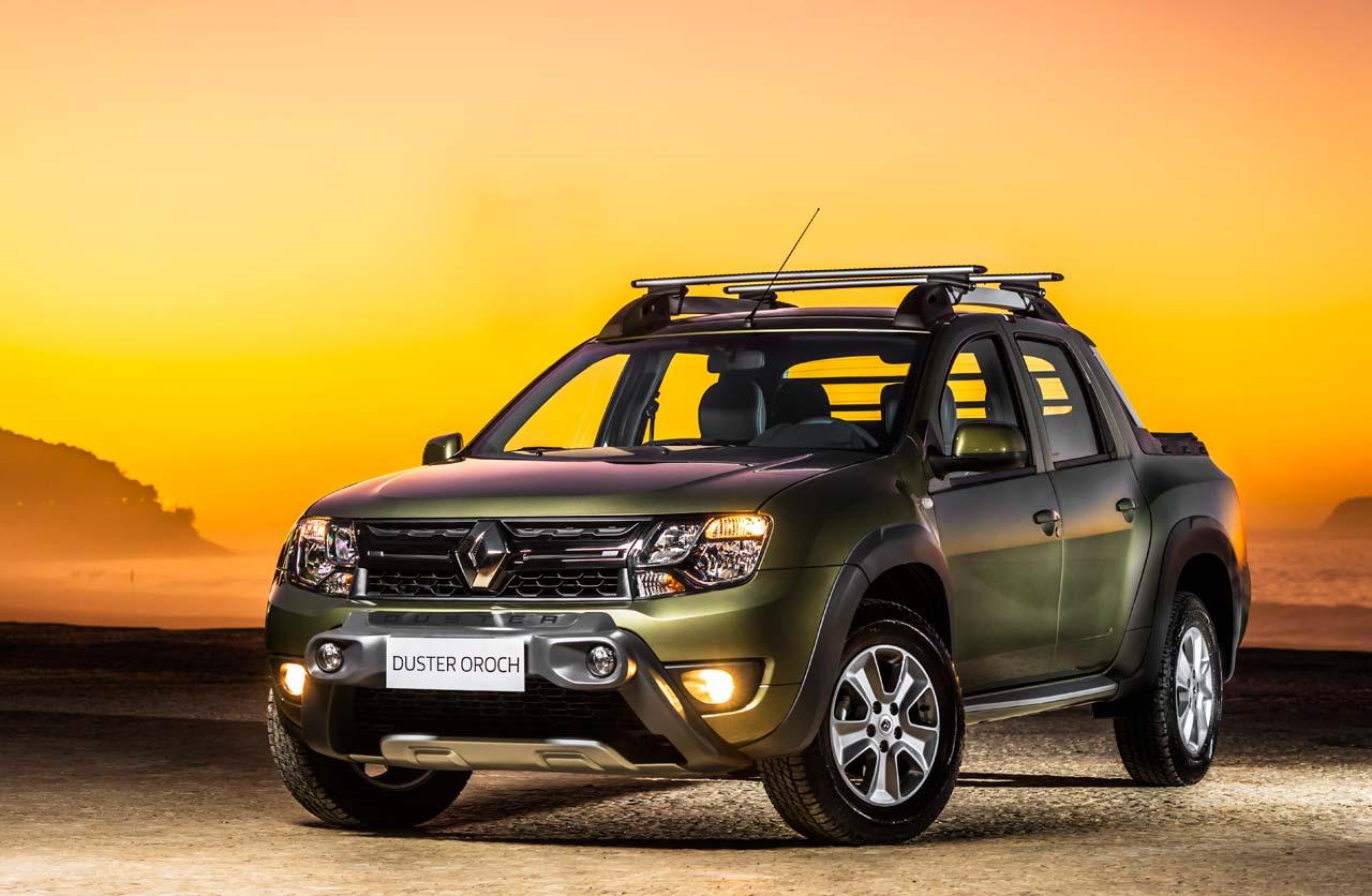 La Renault Duster Oroch arrancó en Brasil