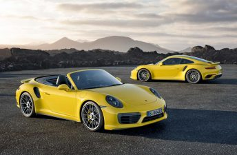 Porsche renovó los 911 Turbo y 911 Turbo S