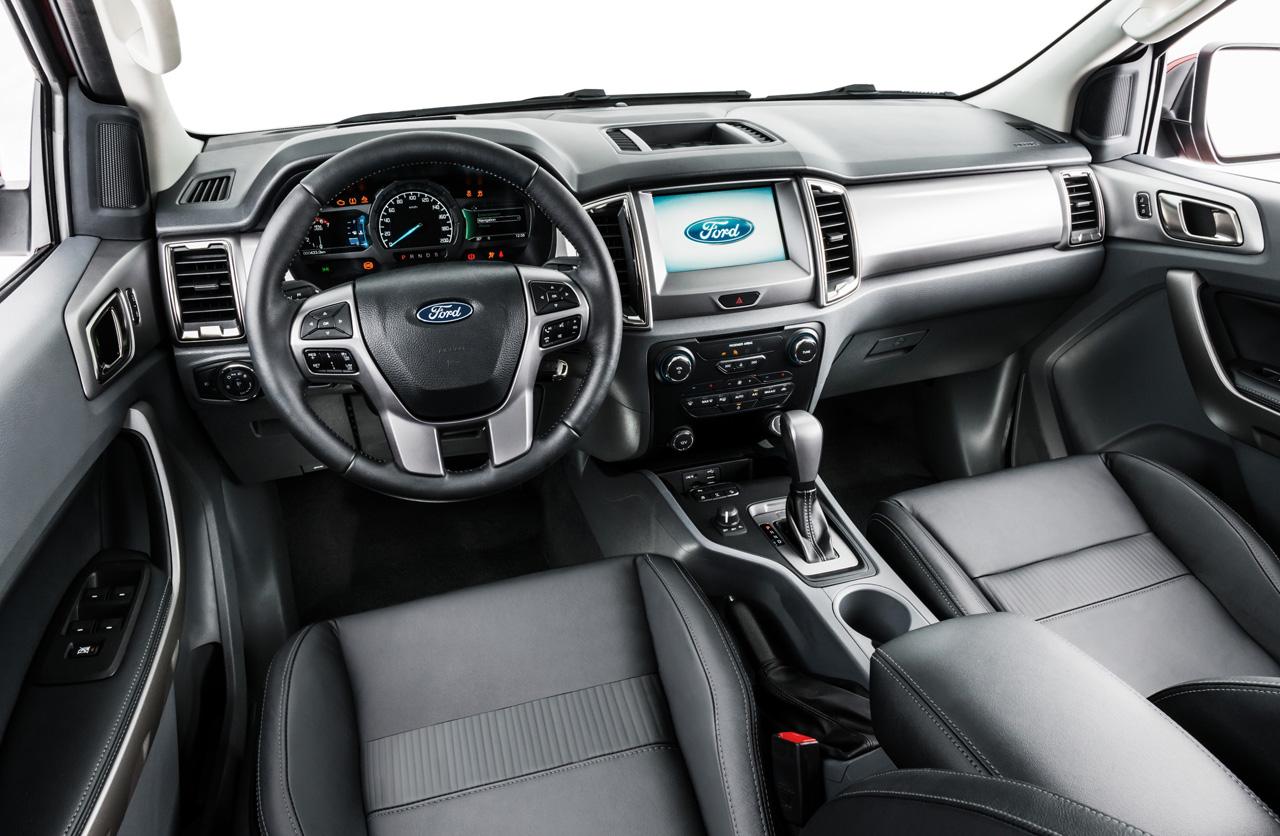 Interior Nueva Ford Ranger