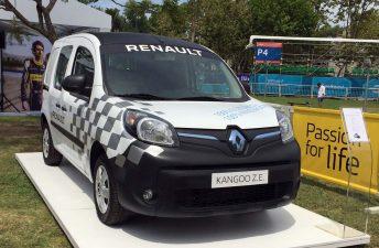 Renault comercializará la Kangoo eléctrica en Argentina