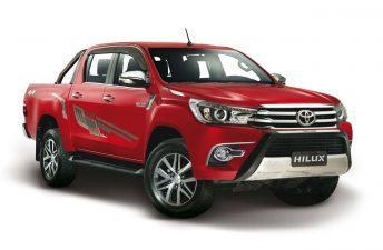 Toyota lanzó una línea de 62 accesorios para la Nueva Hilux