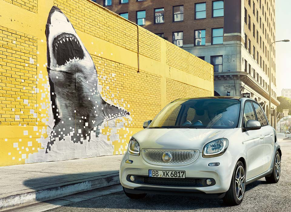Nuevos smart fortwo y forfour