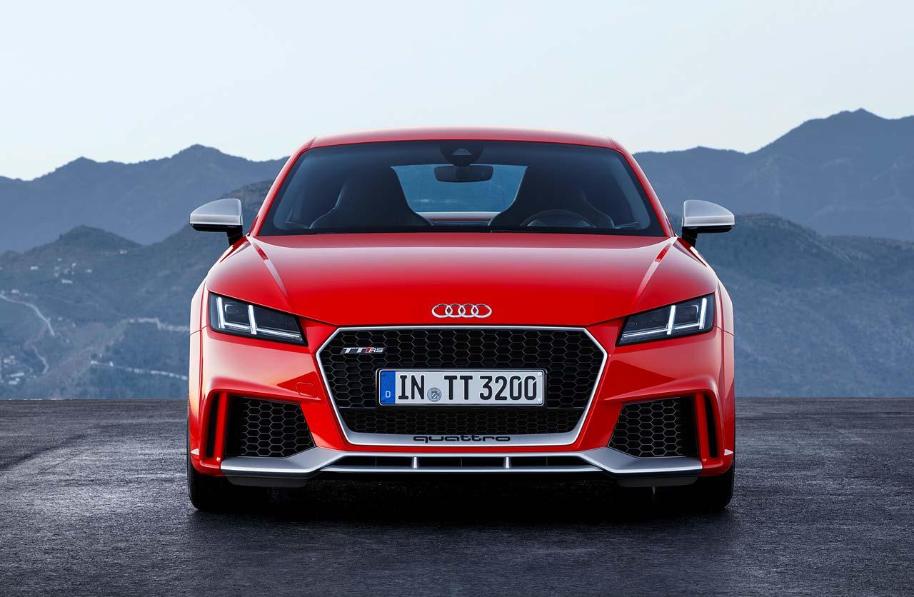 Audi TT RS, con cinco cilindros y 400 caballos