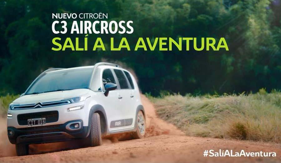 Citroën lanzó la campaña del nuevo C3 Aircross con un film 360°