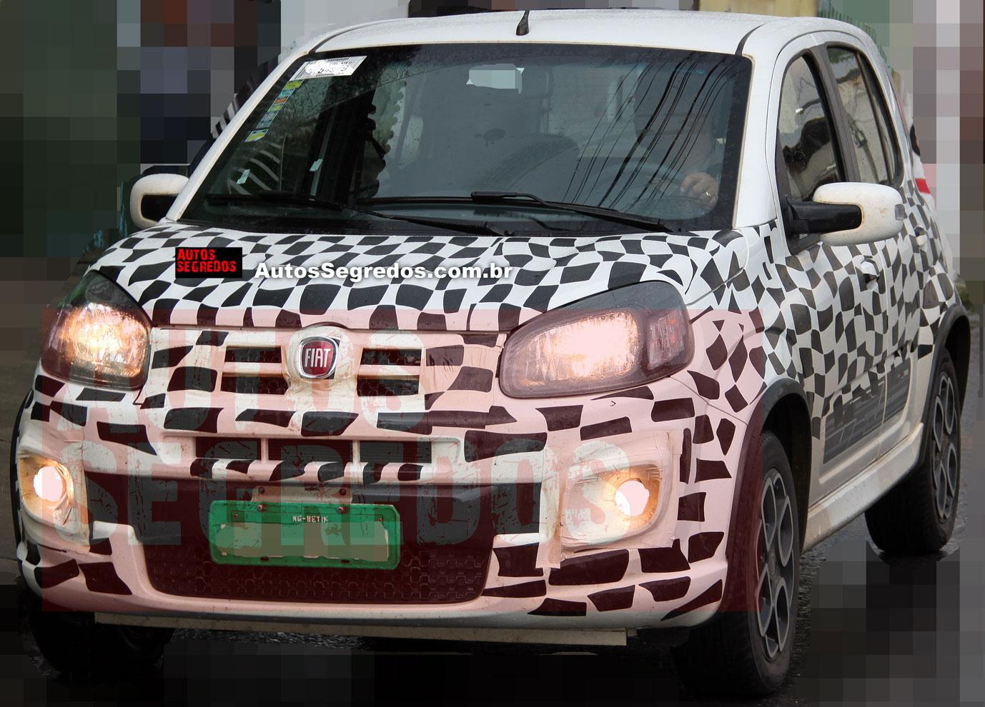 Descubrieron los nuevos cambios del Fiat Uno
