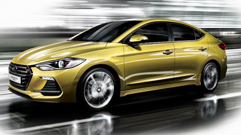 Hyundai Elantra, con versión Sport de 204 CV