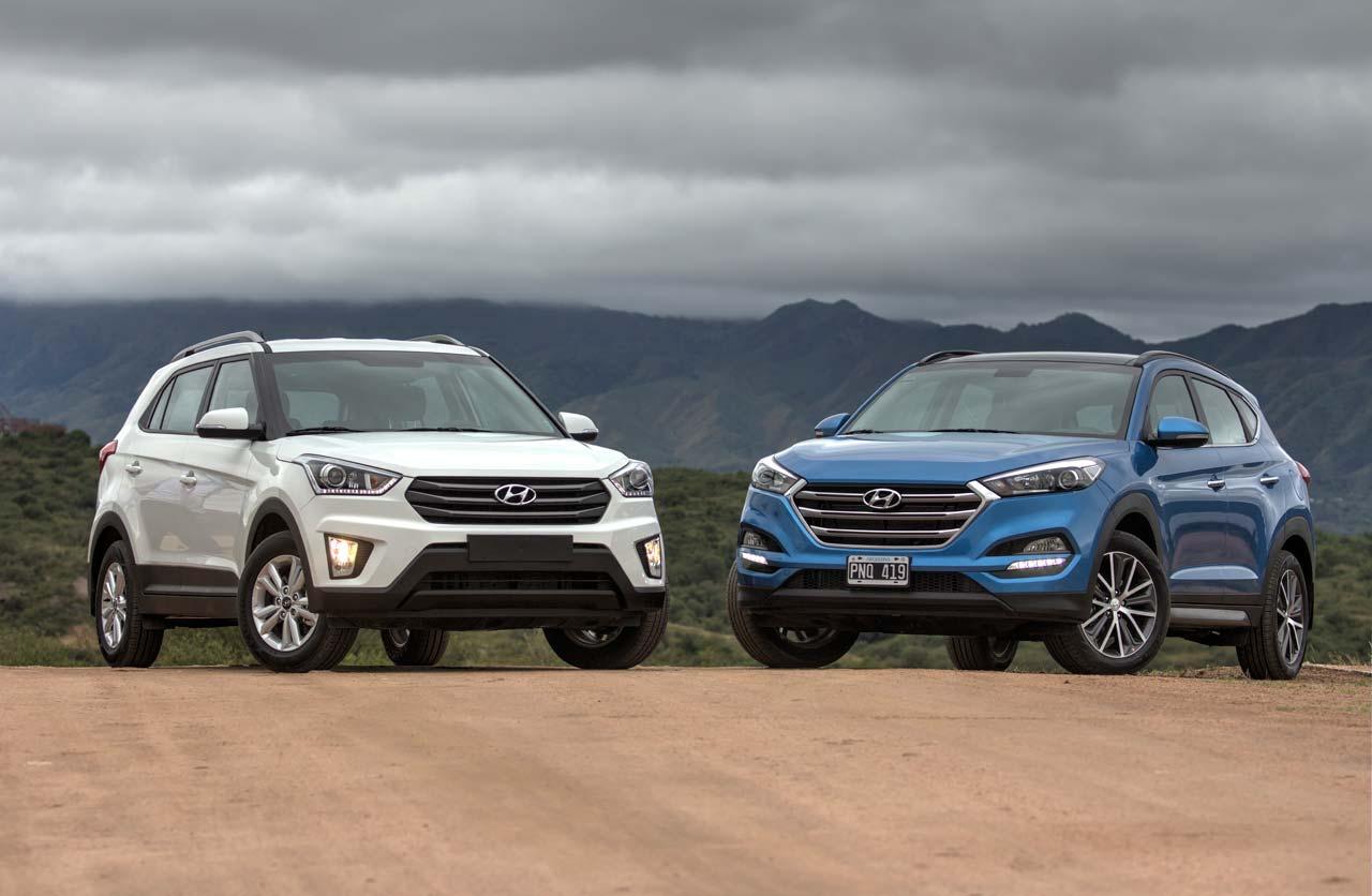 Hyundai Creta y Nueva Tucson