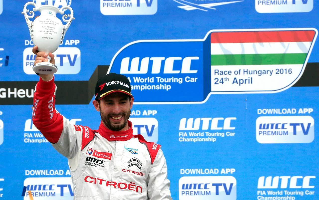 WTCC: Citroën y Pechito en lo más alto del Campeonato