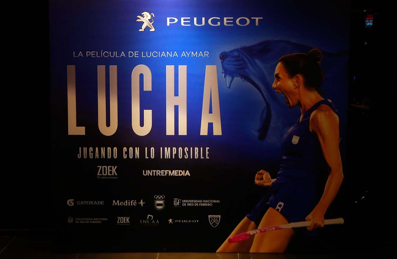 """Se estrenó """"Jugando con lo Imposible"""", el documental de Luciana Aymar"""