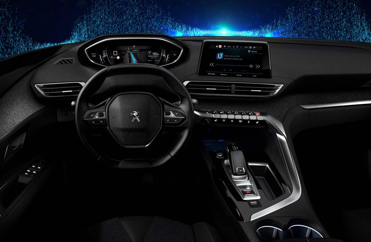 Peugeot presentó la nueva generación de i-Cockpit