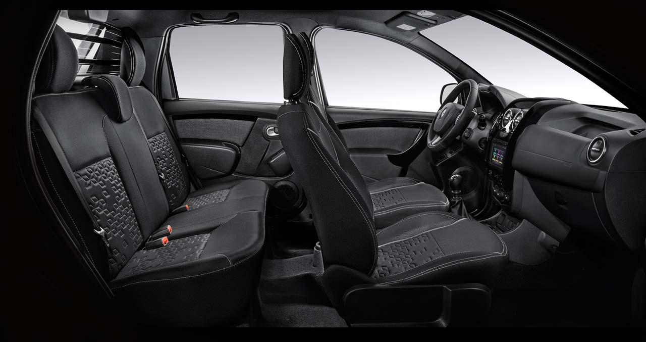 Interior Renault Duster Oroch