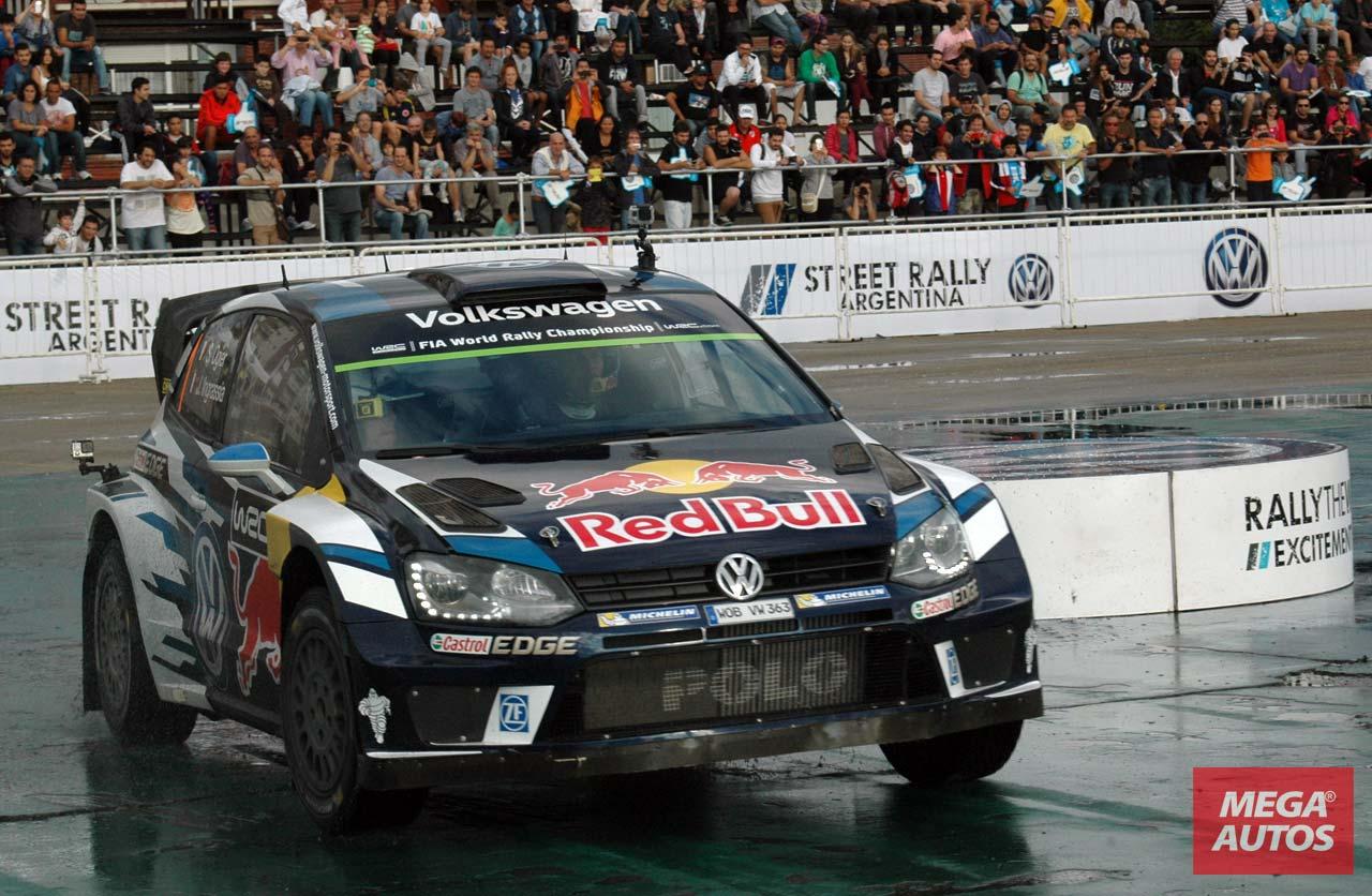 Los pilotos de Volkswagen Motorsport fueron ovacionados en Tigre