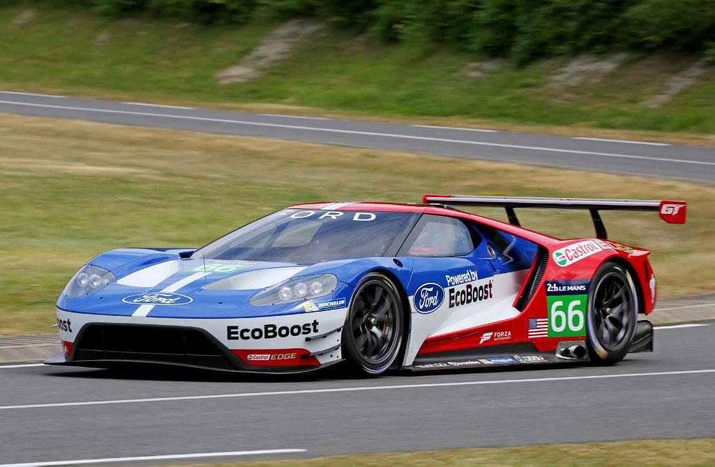 El nuevo Ford GT debutará este fin de semana en las 24hs de Daytona