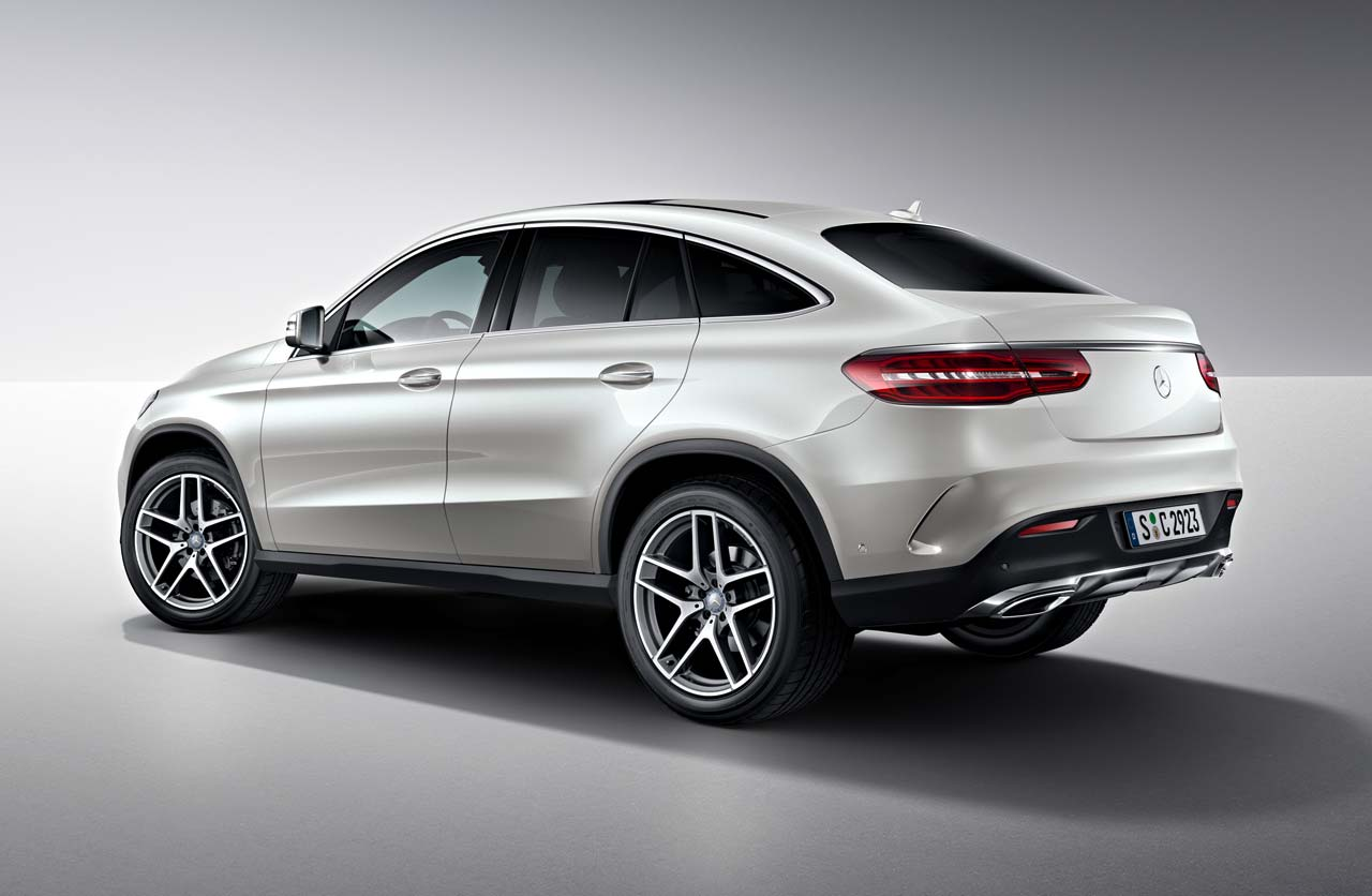 El in dito mercedes benz gle coup lleg a la argentina for Mercedes benz of louisville