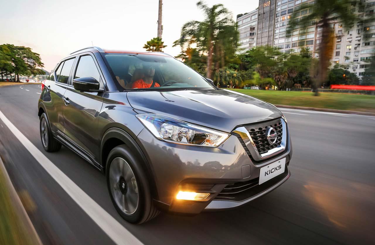El Nissan Kicks puso primera en Brasil
