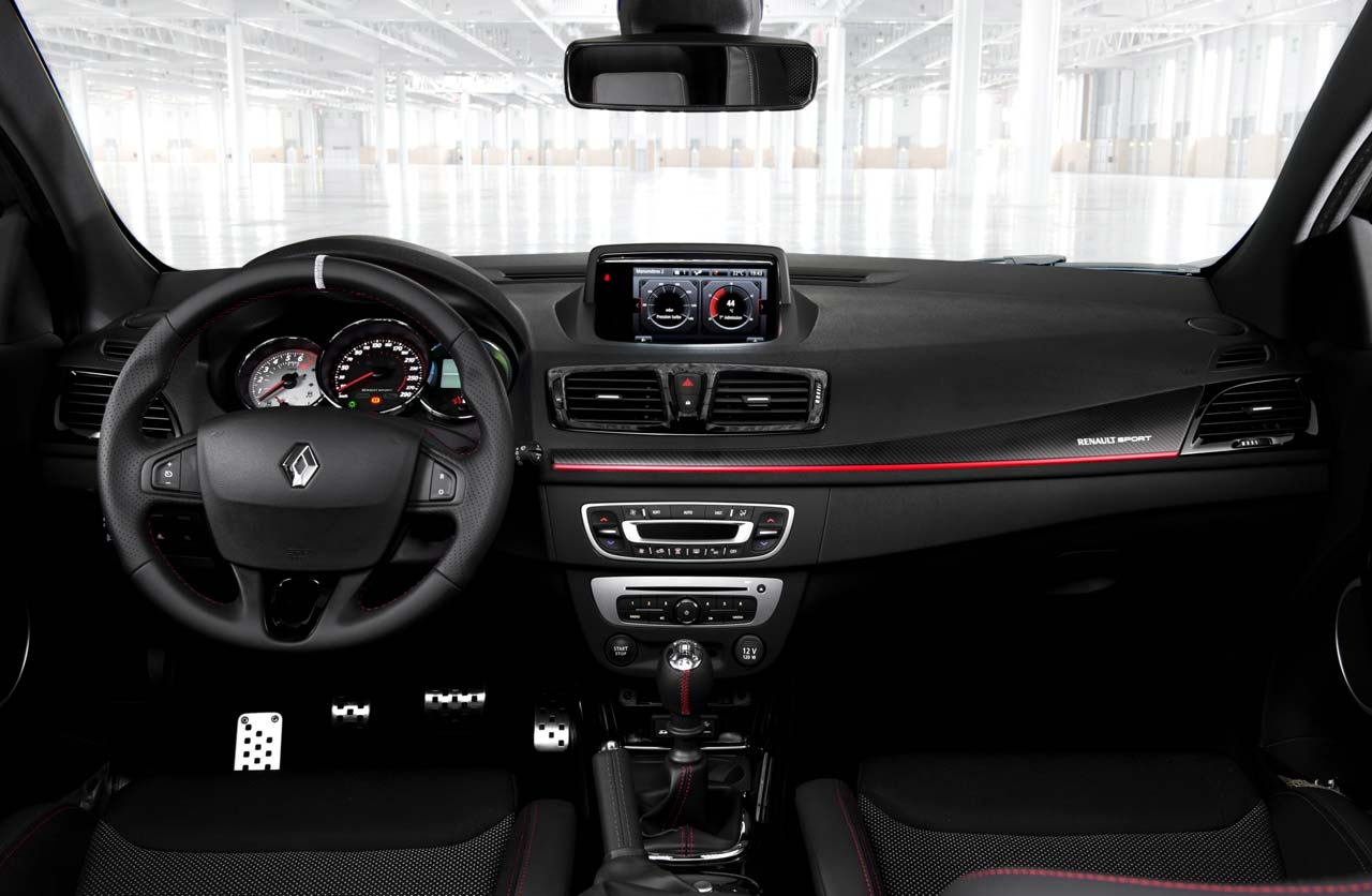 renault megane iii rs interior mega autos. Black Bedroom Furniture Sets. Home Design Ideas