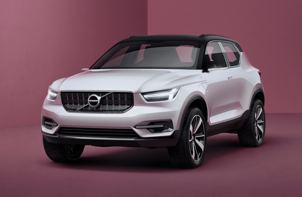 """Volvo anticipa sus próximos """"compactos"""""""