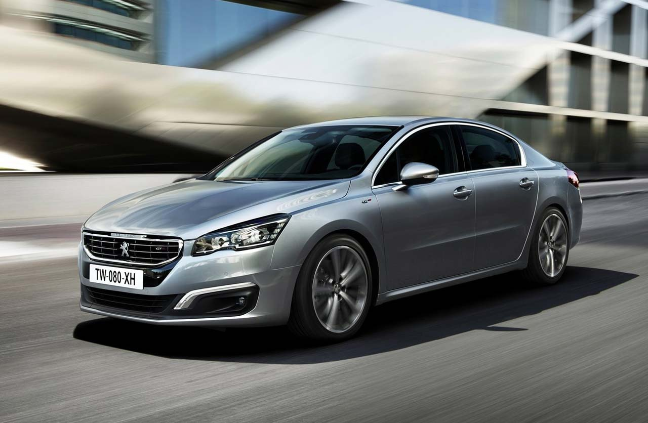 peugeot 508 regreso con restyling mega autos. Black Bedroom Furniture Sets. Home Design Ideas