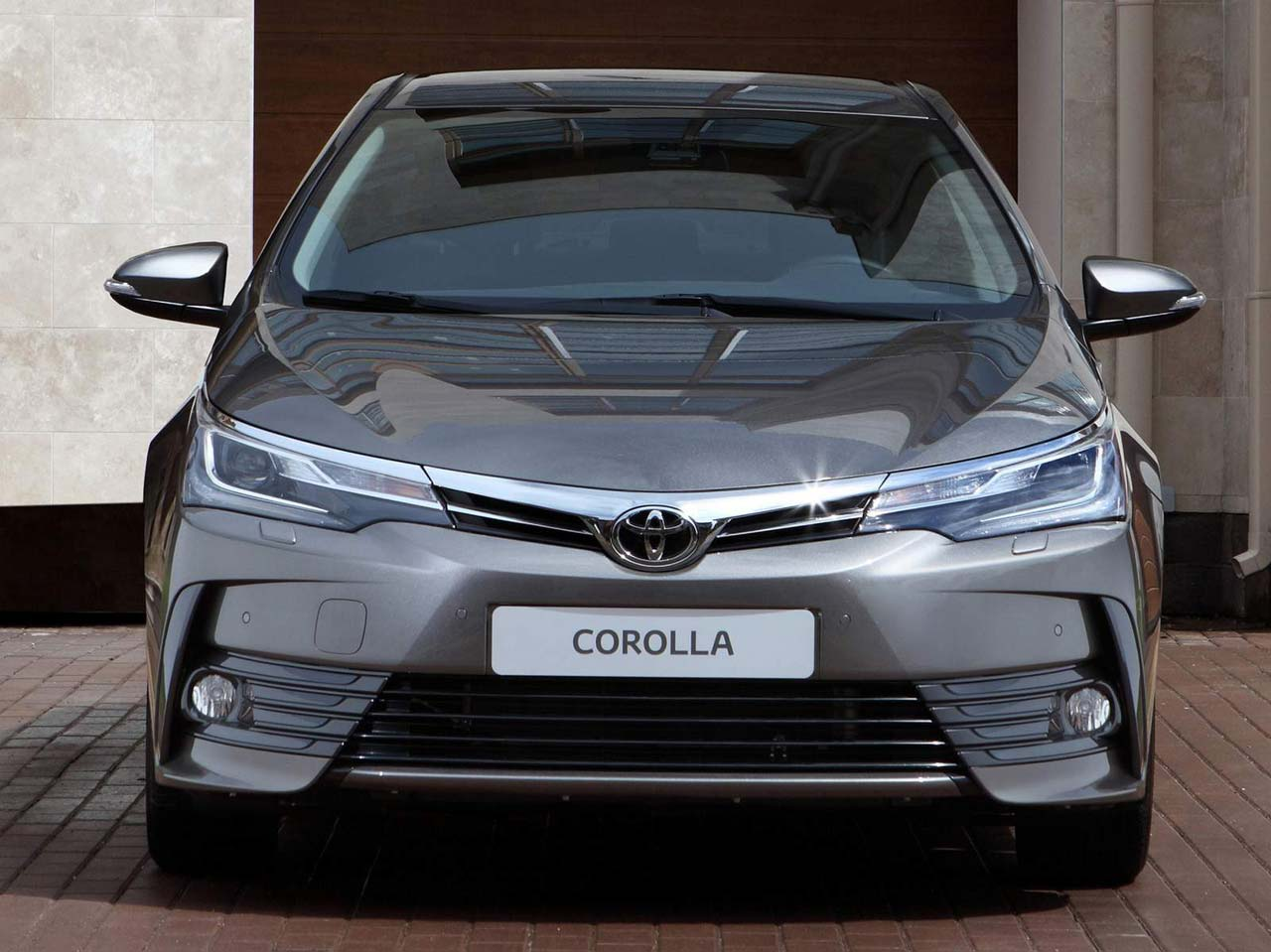 con ustedes el toyota corolla 2017 mega autos. Black Bedroom Furniture Sets. Home Design Ideas