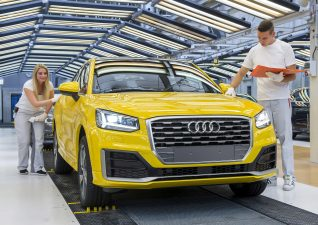 Comenzó la producción del Audi Q2 en Ingolstadt