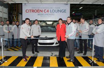 Citroën produjo 50.000 C4 Lounge en El Palomar
