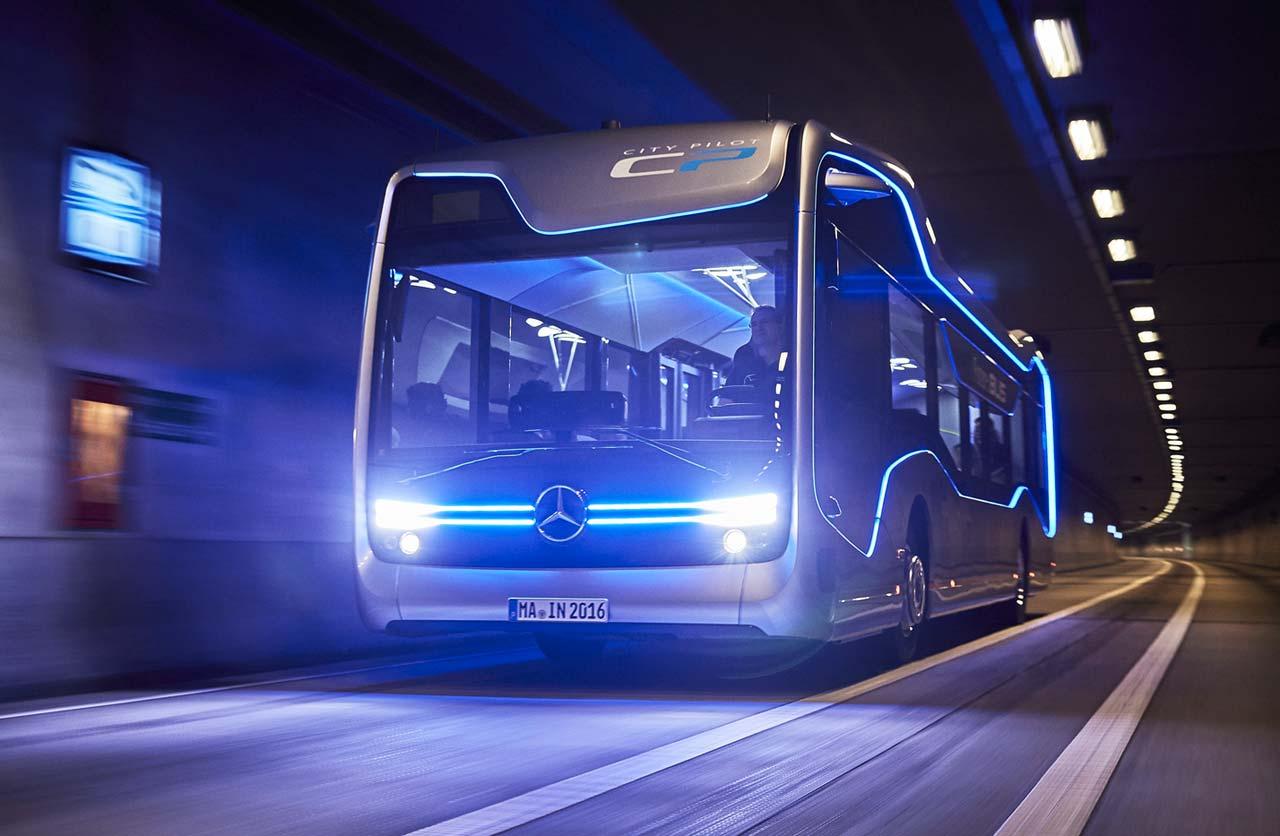 El Bus del Futuro Autónomo de Mercedes-Benz ya es una realidad