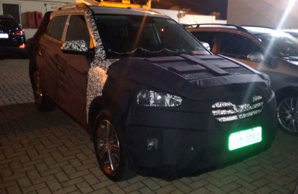 """""""Cazaron"""" al Hyundai Creta, que será brasileño"""