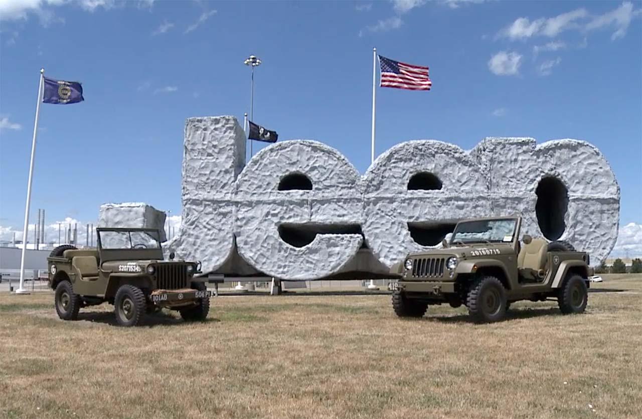 Jeep Wrangler 75º Salute, planta Toledo